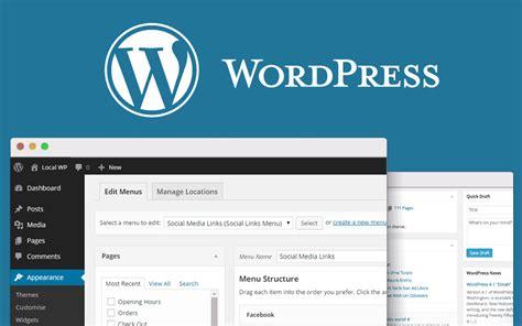 how to create website navigation menus in wordpress