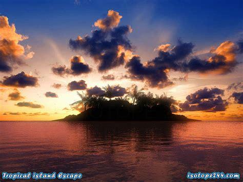 tropical island escape  screensaver    software reviews cnet downloadcom