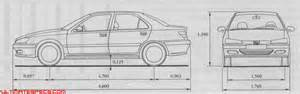 Peugeot 406 Dimensions Index Of Carblueprints 8