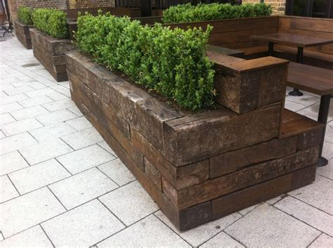 Sleeper Planter Kits by 17 Best Images About Sleepers Retaining Wall On