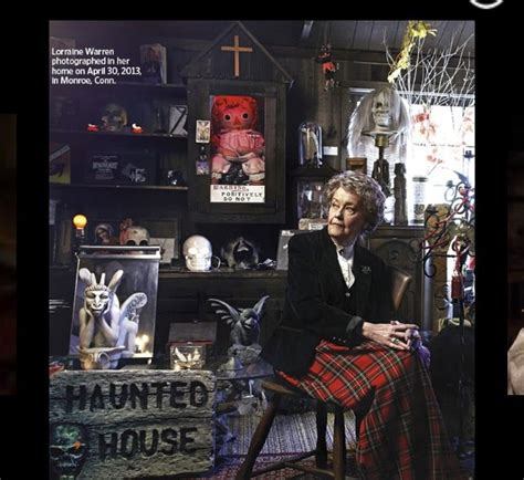 annabelle doll tour quot the conjurings quot real lorraine warren at occult