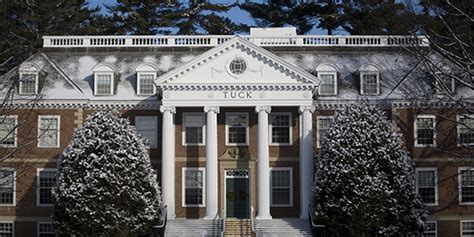 Dartmouth College Tuck Mba by Tuck School Of Business At Dartmouth College