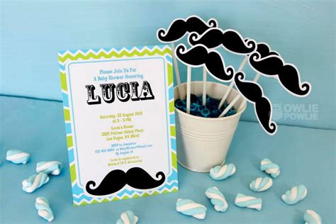 Mustache Baby Shower by Mustache Baby Shower Ideas