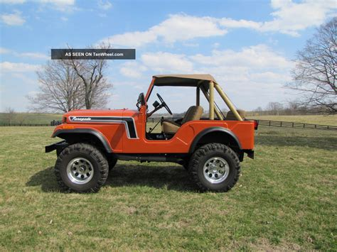 jeep ford 1975 jeep cj 5 304 3 speed partial trade