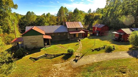 Log Cabins For Sale In Ky by Cabin Creek Artist Retreat 1863 Antique Log Cabin 28 Ac