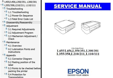 reset ink level epson l210 manual epson l210 service manual pdf