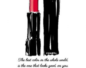 Lipstick Chanel Quotes coco chanel quotes lipstick quotesgram