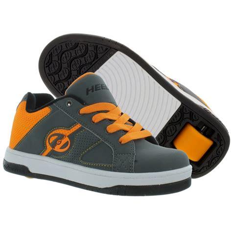 heely s split roller shoe gray orange