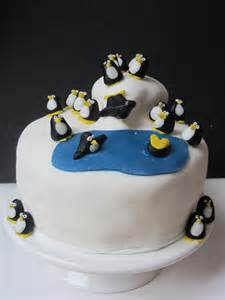 Penguin Themed Birthday Cake Lucy S Friendly Foods