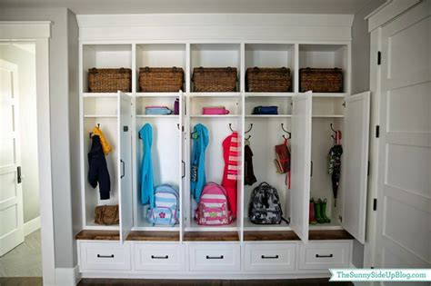 lockers in your home the shelving