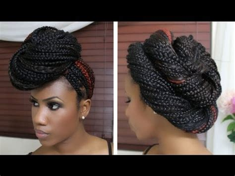 4 Quick and Easy Ways On How to Create Cute Box Braid Styles