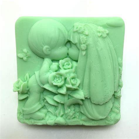 Cake Decorating Molds by New Wedding Soap Silicone Mold Boy Dress Cake