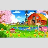 Cartoon Farm Scene | 400 x 224 animatedgif 1006kB