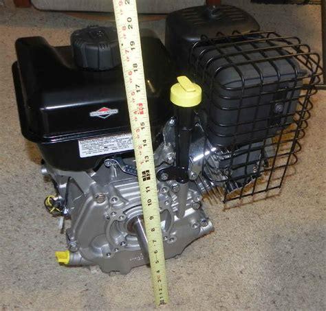 briggs stratton horizontal shaft small engines