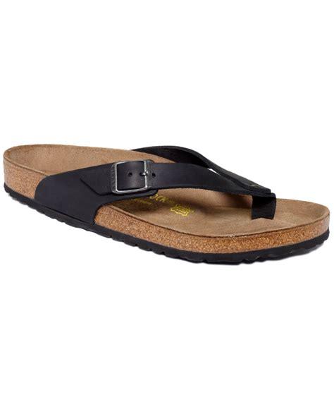 black mens sandals birkenstock adria sandals in black for black