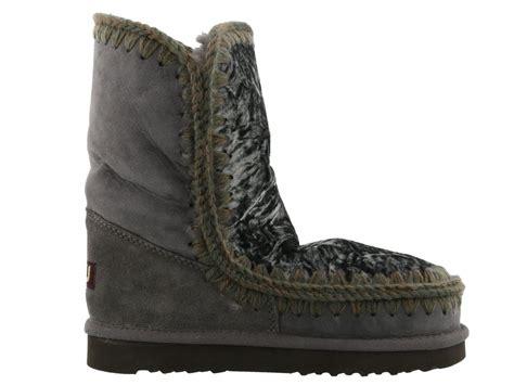 eskimo boots mou mou eskimo boots limited edition grey s