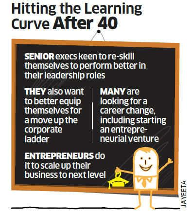 Quit To Pursue Mba by Many 40 Plus Executives Go In For Mba To Fast Track Their