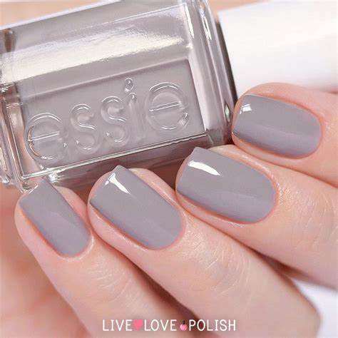 essie hair color essie chinchilly nail polish beauty pinterest nice