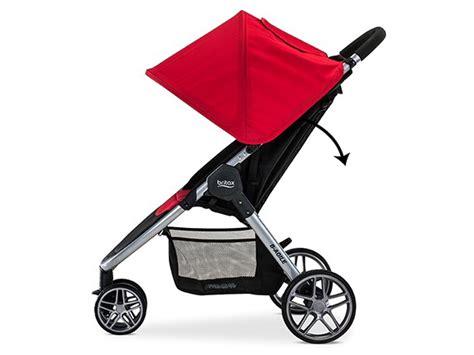 britax b agile stroller recline britax b agile 3 stroller 2016 red 652182066093 ebay