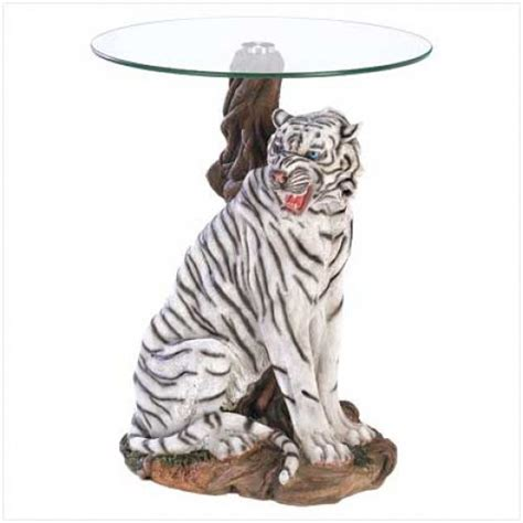 White Tiger Coffee Table White Tiger Accent Table