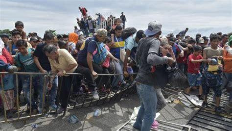 M 233 Xico Denuncia La Entrada 171 Por La Fuerza 187 De Migrantes