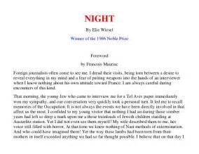 By Elie Wiesel Essay Topics by By Elie Wiesel
