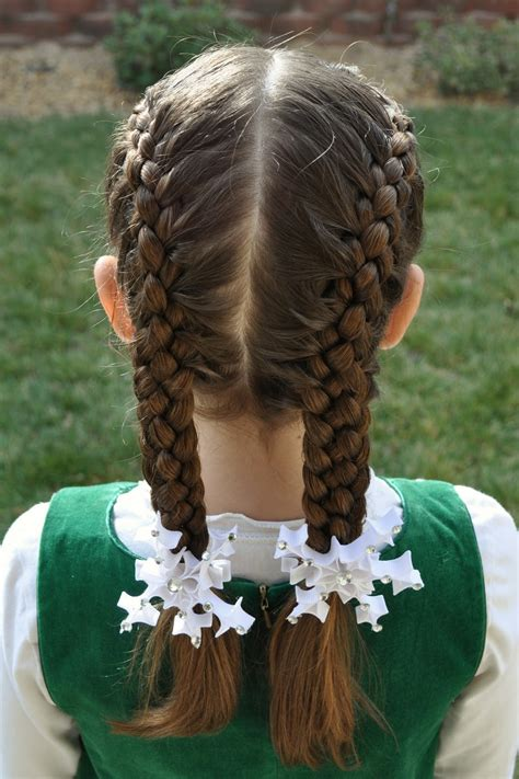 4 strand french braid easy hairstyles cute girls princess piggies friday s films french 4 strand french