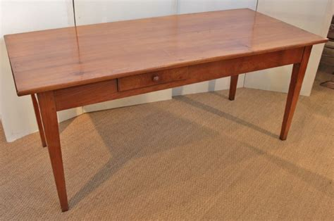 cherry wood farm house table kitchen table 302483