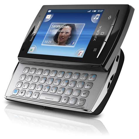 sony ericsson xperia x10 mini pro noir mobile