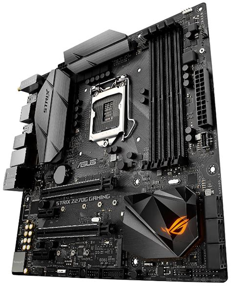 Asus Rog Z270g Strix Gaming asus rog strix z270g gaming matx motherboard review
