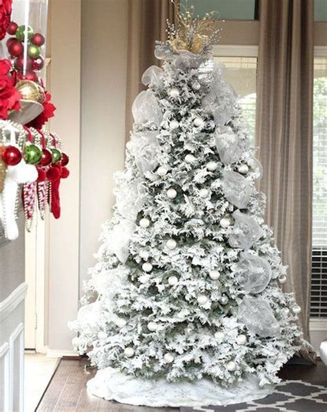 35 neutral and vintage white christmas tree ideas home