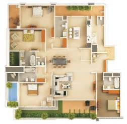 apartments 3d floor planner home design software online
