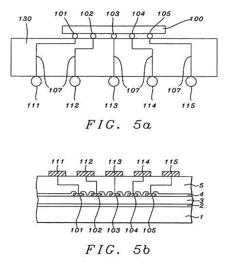 integrated circuit layers patent us8304907 top layers of metal for integrated circuits patents