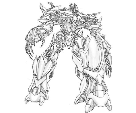 transformers 4 grimlock coloring coloring pages