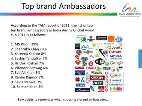 Brand Ambassador Companies brand ambassador and brand