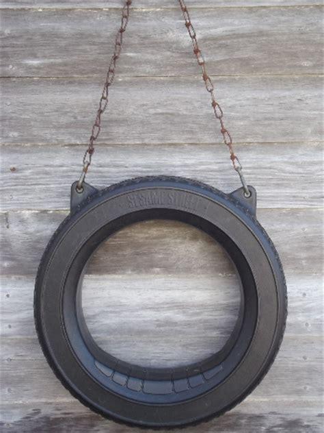 Diy Patio Lighting Sesame Street Tire Swing Vintage Plastic Swing Ring