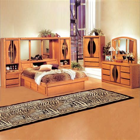 wall unit bedroom set bedroom sets