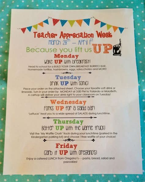 appreciation week 2012 letter to parents 25 best ideas about appreciation week on