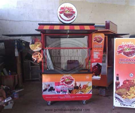 desain booth makanan booth steak mr iga gerobak makanan iga bakar