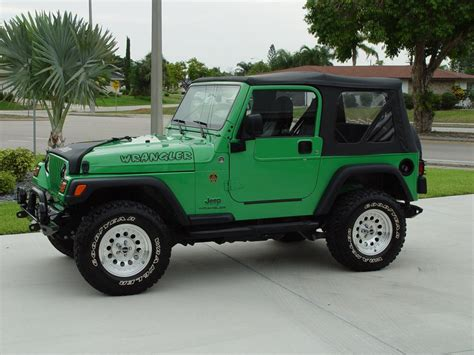 Green Wrangler Jeep Enthusiast