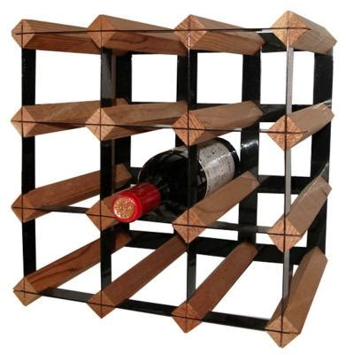 Wine Rack Home Depot by Vinotemp Cellar Trellis 12 Bottle Wine Rack Rack 12ct