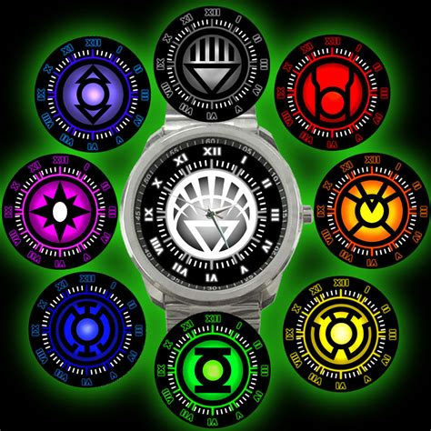 green lantern colors power rings of dc universe green lantern complete corps