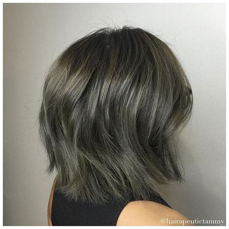 charcoal hair color 18 best charcoal hair images on colourful hair
