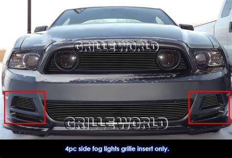 2014 mustang gt lights fits 2013 2014 ford mustang gt black fog light billet