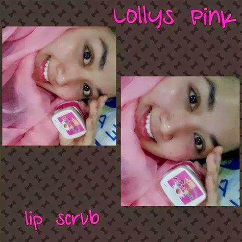 Lollys Pink Scrub bz velogshope lollys pink lip scrub murah