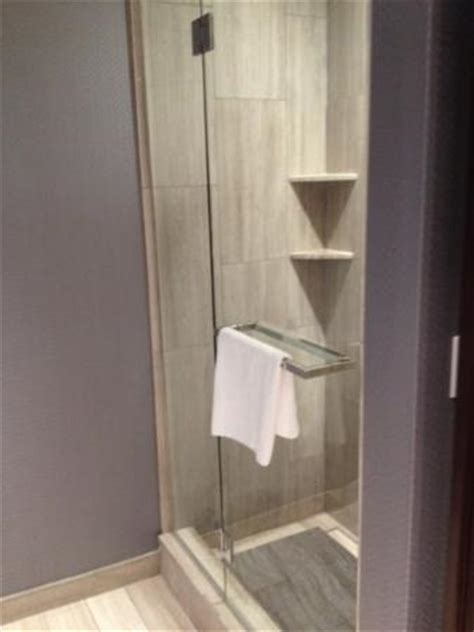 Large Standing Shower Stand Up Shower In Addition To Large Tub Picture Of