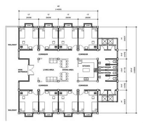 Design Guidelines For Dormitory | 31 best images about floor plan on pinterest museums