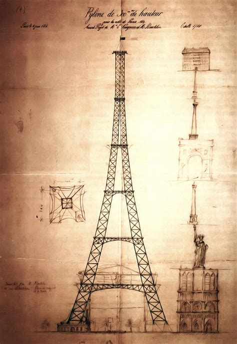 who designed the eiffel tower eiffel tower design digital art by bill cannon