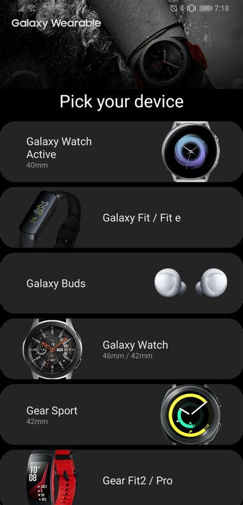 samsung leaks upcoming wearable      app