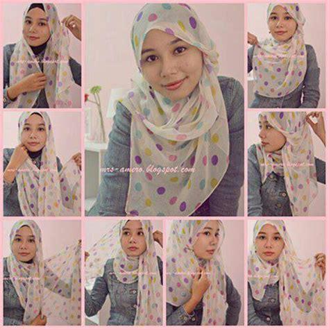 tutorial hijab pashmina instant need 2 try hijab tutorial pinterest